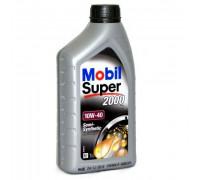 Mobil Super 2000х1 10w40 (1л) масло моторное ,п/синтетическое 152569