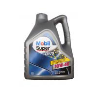 Mobil Super 2000х1 10w40 (4л) масло моторное ,п-синтетическое 152050 / 152568