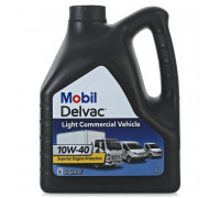 Mobil DELVAC Light Commercial Vehicle 10w40 (4л) масло моторное 153745